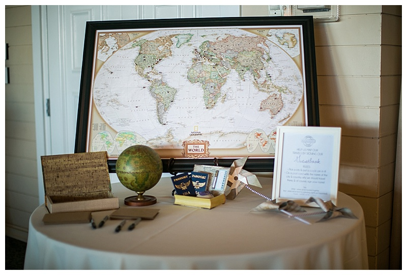 Travel wedding theme the guestbook eli eve i ordered our map here on etsy and then purchased the colored pins separately gumiabroncs Choice Image